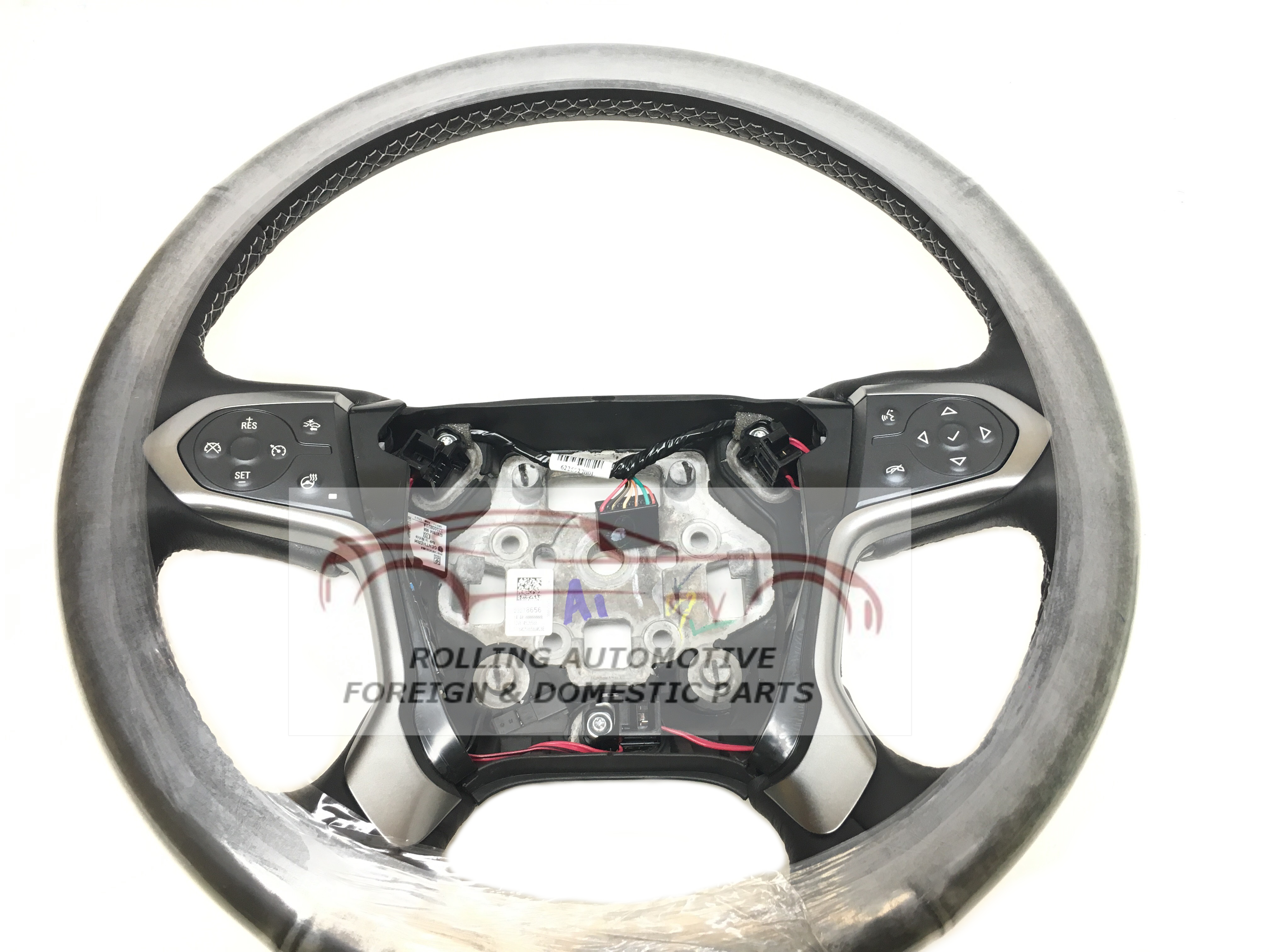 2014 2015 2016 2017 Chevrolet Silverado Heated Leather Steering Wheel Home Interior New