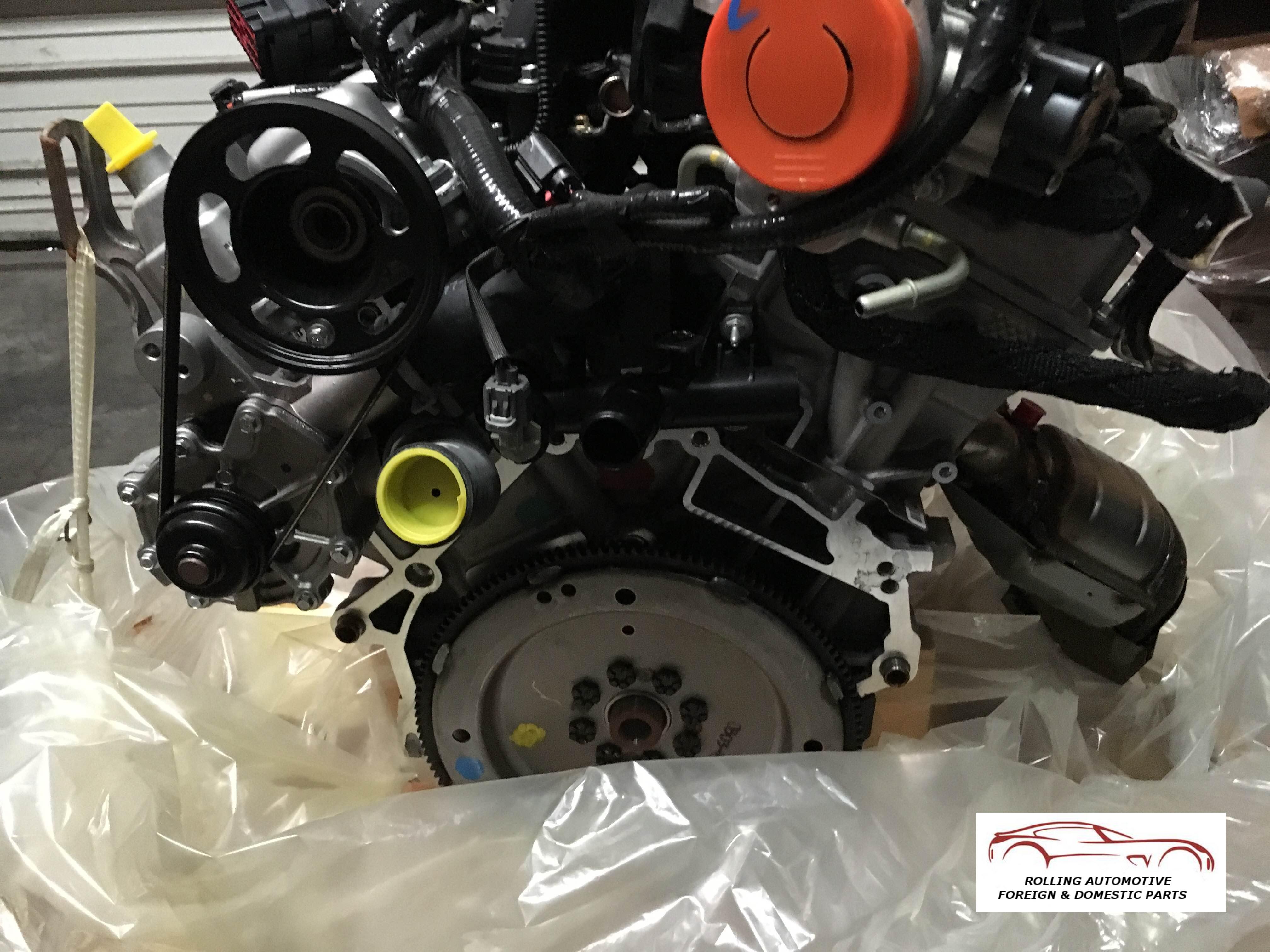Home Engines Transmissions   Taurus Sable  L Dohc Engine Assembly New Oem Fz  Da