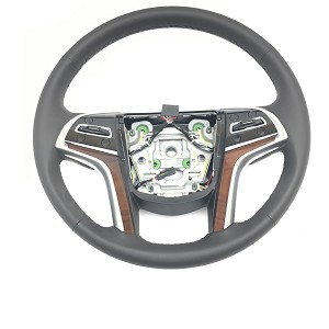 Cadillac Escalade Leather Steering Wheel Black New OEM 2015-2017