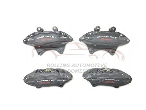 Chevrolet Camaro SS Brembo Brake Calipers Front Rear Set with Brake Pads New OEM